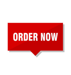 Order now red tag vector