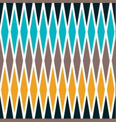 Seamless rhombus geometrical pattern vector