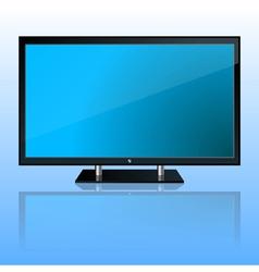 Wide computer monitor vector