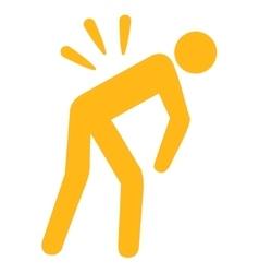 Backache Icon vector image