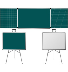 blackboards vector image