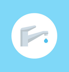 faucet icon sign symbol vector image