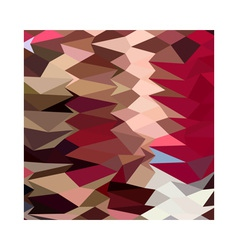 Vermillion Abstract Low Polygon Background vector