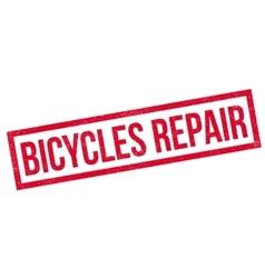 Bicycles Repair rubber stamp vector image