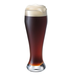 Dark Beer vector image vector image