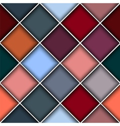 Square structure background vector image vector image
