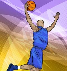 Basketball Player vector image