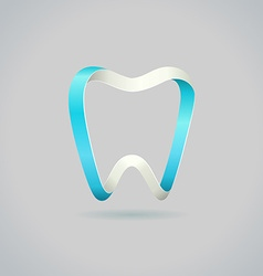 Abstract tooth symbol vector