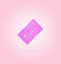 credit card designs vector image