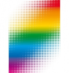 Dots background vector