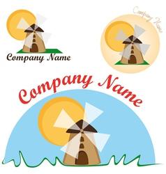 Logo for the bakery vector
