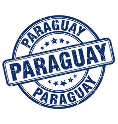 Paraguay stamp vector