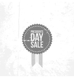 Presidents Day Sale Emblem with Text vector