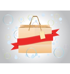Shopping Bag Design3 vector image