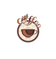 Coffee design vector image
