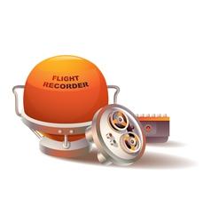 Flight Recorder vector image