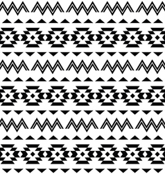 Tribal pattern Aztec seamless background vector image vector image