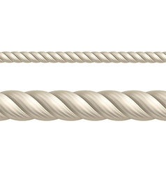 Rope seamless vector image vector image