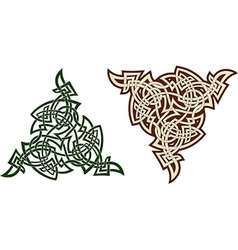 Celtic triskell vector image vector image
