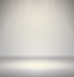 Empty Room with Light vector image vector image