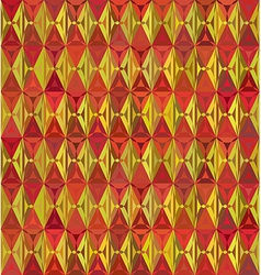 60s styled seamless diamond pattern vector image