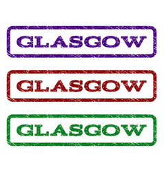 Glasgow watermark stamp vector