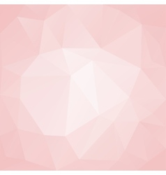 Pink abstract background polygon vector