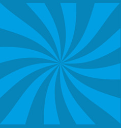 retro blue ray background in vintage style vector image