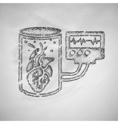Tissue engineering icon vector