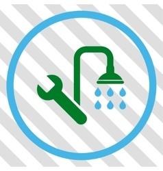 Plumbing Icon vector image vector image