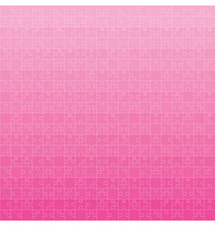 400 pink puzzles vector image