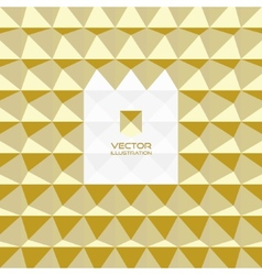 Abstract 3d geometric background With place for vector