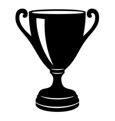 Goblet icon simple black style vector
