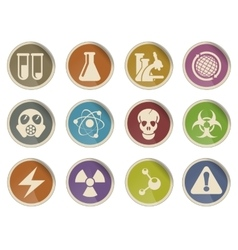 Science Symbols Icons vector image