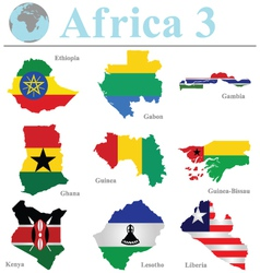 Africa Collection 3 vector image
