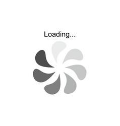 progress loading download progress symbol logo vector image vector image