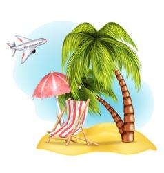 Vacation vector image vector image