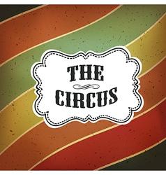 circus lines retro background vector image