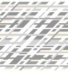 retro geometric seamless pattern in grey vector image
