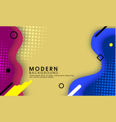 abstract modern trendy halftone background vector image