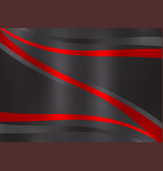 black and red color abstract background with copy vector image