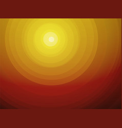 desert sunsets circular brown radial background vector image
