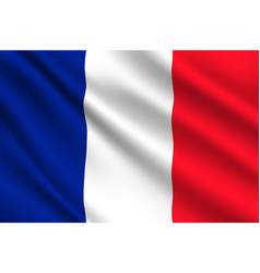 french flag france country national identity vector image
