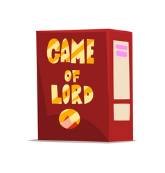 game of lord board game box on vector image
