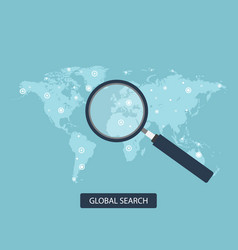 Global search concept in flat vector