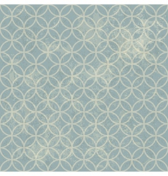 grunge seamless vintage pattern geometric vector image