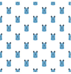 haversack pattern seamless vector image