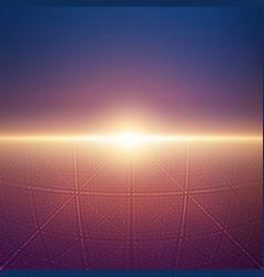 Infinite space background matrix of vector