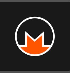 monero icon vector image