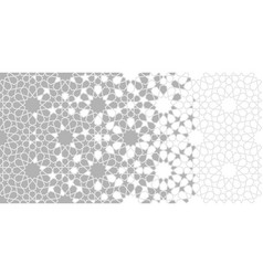 Moroccan arabesque pattern geometric vector